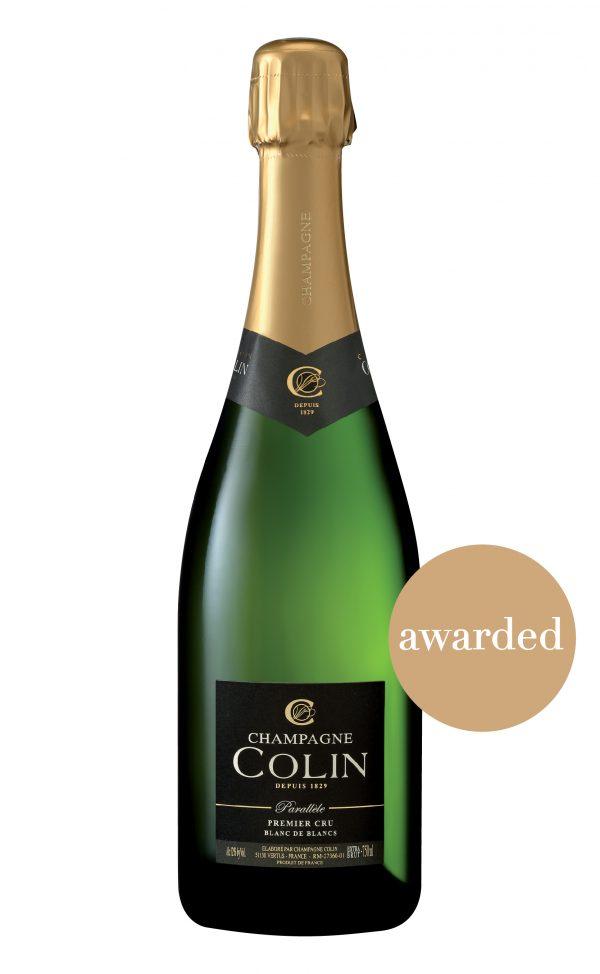 Cuvée Parallèle Champagne extra brut Colin, SimplyChampagne