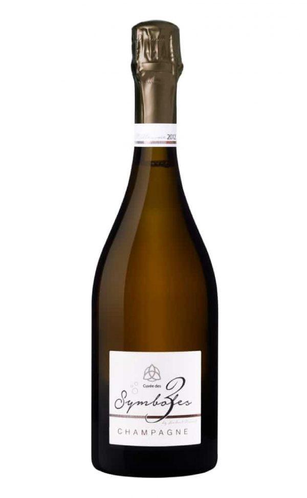 Organic Champagne Blanc de blancs extra brut Millésime 2012 Hubert Noiret, SimplyChampagne